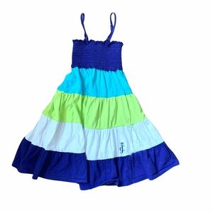 Juicy Couture Tiered Sleeveless Summer Dress